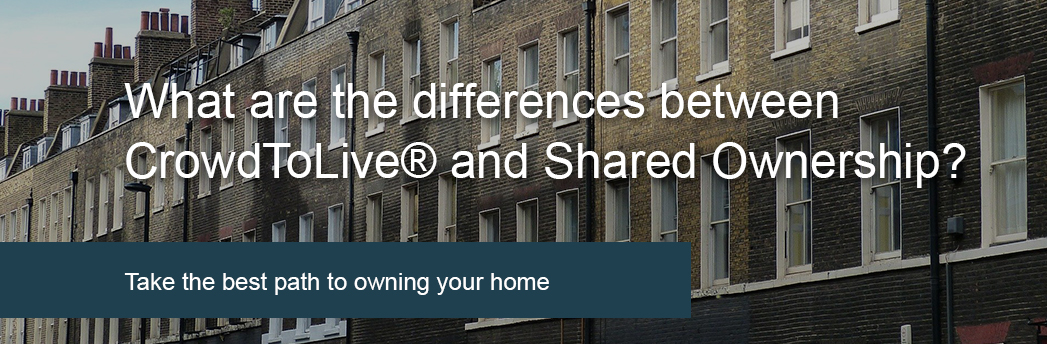 Differences between CrowdToLive and Shared Ownership